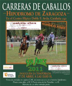 Carreras de caballos san jorge 2011 eventos zaragoza for Oficinas cai en zaragoza