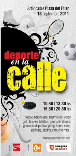 Domingo 18 de Septiembre: Día del Deporte en la Calle 2011