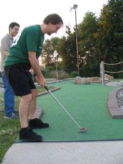 Golf para todos en la Plaza del Pilar