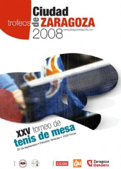 Xxv torneo tenis de mesa ciudad de zaragoza eventos zaragoza deporte - Torneo tenis de mesa ...
