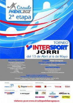 Finales del «Torneo Intersport Jorri» de Pádel