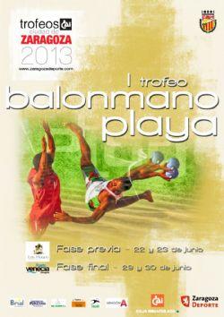 I trofeo cai ciudad de zaragoza de balonmano playa for Oficinas cai en zaragoza