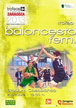Trofeo cai ciudad de zaragoza de baloncesto femenino for Oficinas cai en zaragoza