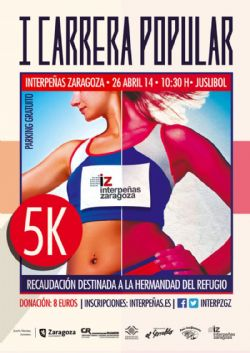 I Carrera Popular Interpe�as Zaragoza 5K