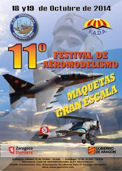 Festival de Aeromodelismo Gran Escala «Aragón 2014»