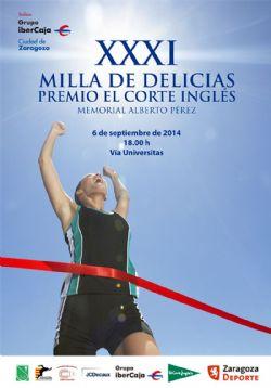 Este sábado se disputa la tradicional Milla Urbana de Delicias, Trofeo «Grupo Ibercaja-Ciudad de Zaragoza»