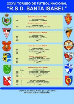 XXXVI Torneo Nacional de Fútbol «R. S. D. Santa Isabel». Categoría Benjamín