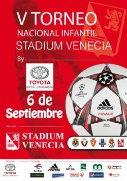 V Torneo Nacional de Fútbol Infantil Stadium Venecia