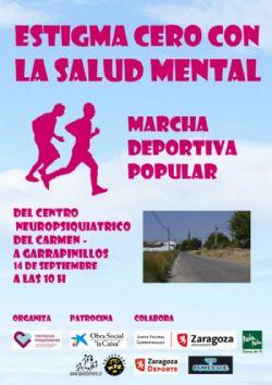 I Marcha Deportiva «Estigma 0 en Salud Mental»