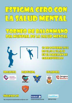 Torneo de Balonmano «Día Mundial de la Salud Mental»