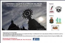 I Ofrenda Ciclista a la Virgen del Pilar