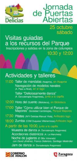 Jornada de Puertas Abiertas del Parque Delicias