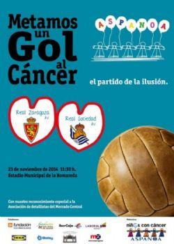 <span style='font-size: 12px;'>Partido ben�fico ASPANOA: R. Zaragoza - Real Sociedad (Veteranos)</span>