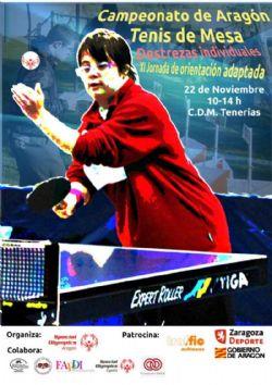 Deporte Adaptado: Campeonato de Arag�n de Tenis de Mesa y XI Jornada de Orientaci�n Adaptada