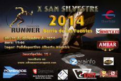 X San Silvestre �Barrio de Las Fuentes� 2014
