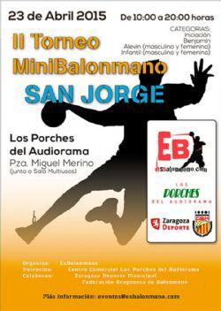 II Torneo de Mini Balonmano �San Jorge�