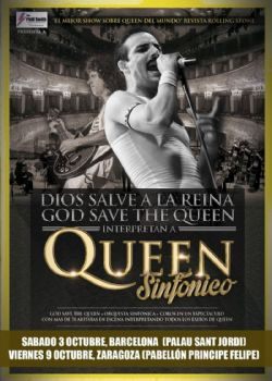 Concierto �God Save the Queen SINF�NICO - Tributo a Queen�