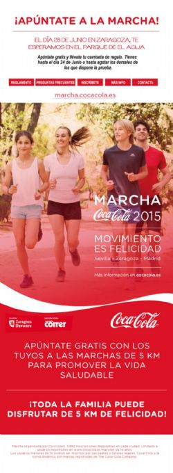 Marcha Coca Cola 2015