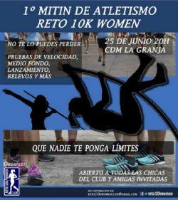 Primer Mitin de atletismo popular de Zaragoza