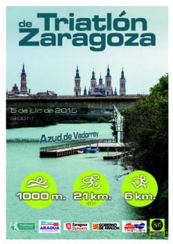 El I Triatlón de Zaragoza se celebrará el 5 de julio