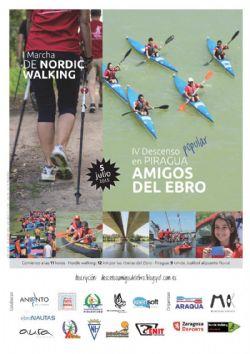 �Amigos del Ebro�: IV Descenso Popular + I Marcha Nordic Walking