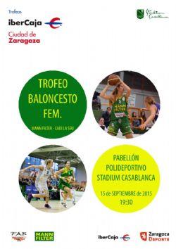 Trofeo ibercaja ciudad de zaragoza de baloncesto for Ibercaja oficinas zaragoza