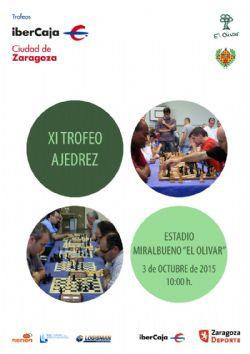Xi trofeo ibercaja ciudad de zaragoza de ajedrez for Ibercaja oficinas zaragoza