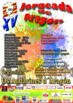 Celebra San Jorge con la XV Jorgeada de Aragón 2016