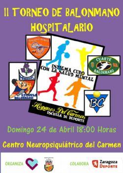 II Torneo de Balonmano Hospitalario