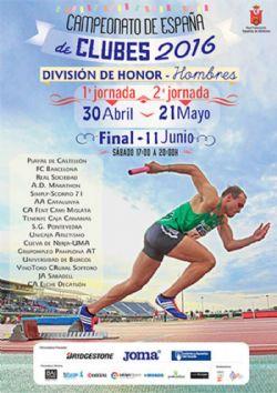 1ª jornada del Cº España de Atletismo Clubes División de Honor