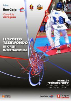 II Trofeo «Ibercaja-Ciudad de Zaragoza» de Taekwondo