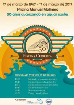 50º Aniversario de la Piscina Cubierta «Manuel Molinero» del Centro Natación Helios