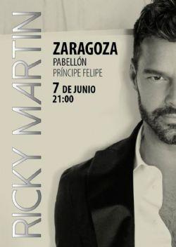 Ricky Martin actuará en el «Príncipe Felipe» el 7 de junio