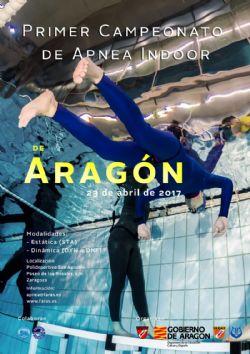 I Campeonato de Aragón de Apnea en Piscina Indoor