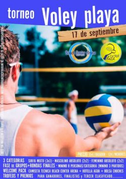 II Torneo de Voley-Playa «Beach Center Arena»