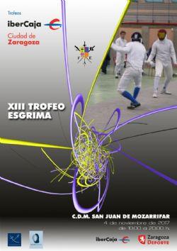 XIII Trofeo «Ibercaja-Ciudad de Zaragoza» de Esgrima