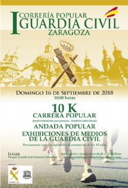 Ampliar foto: I Correría Popular Guardia Civil Zaragoza