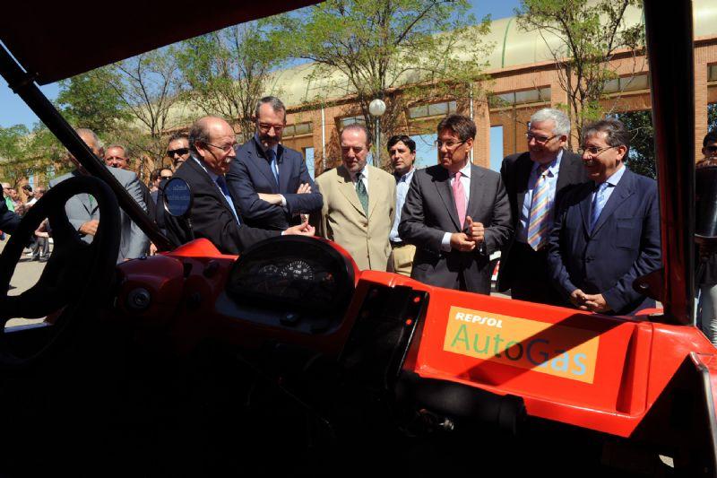 En la presentación se pudieron observar varios vehículos participantes