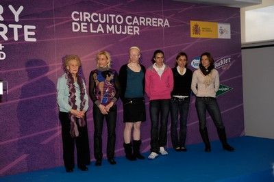 Presentación de la Carrera de la Mujer