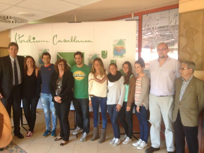 Foto de la Rueda de Prensa de presentación del Trofeo