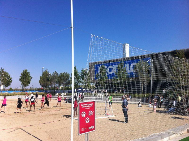 Open de Balonmano Playa para escolares