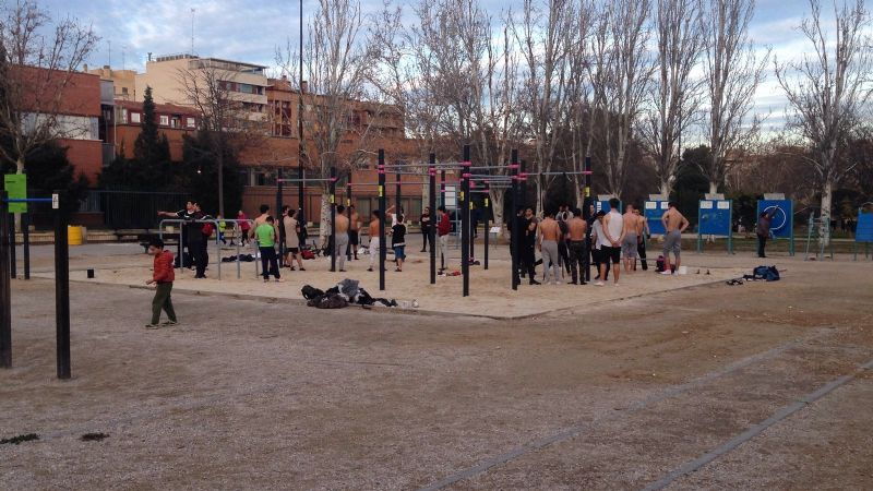 «Street Workout» del Parque Torre Ramona