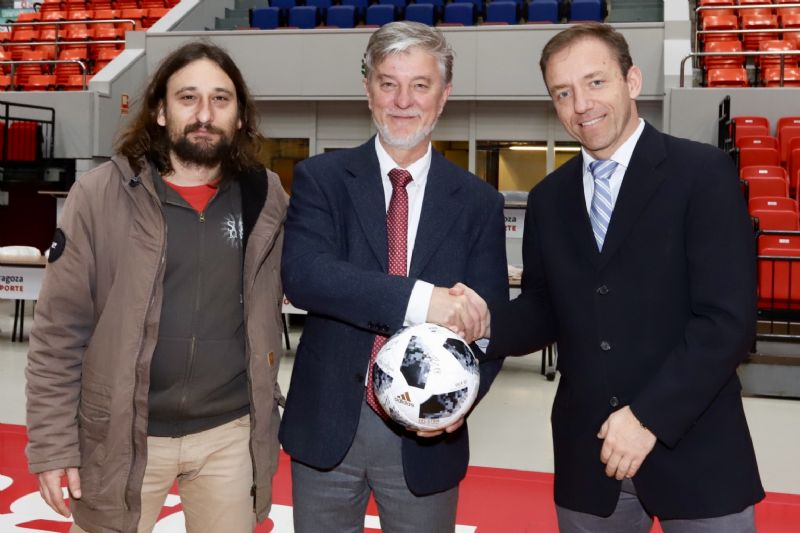 La Copa de la UEFA Final Four de fútbol sala ya está en Zaragoza