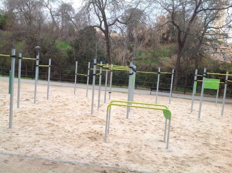 1. IDE Street Workout Parque «José Antonio Labordeta» (Junta Municipal Universidad).