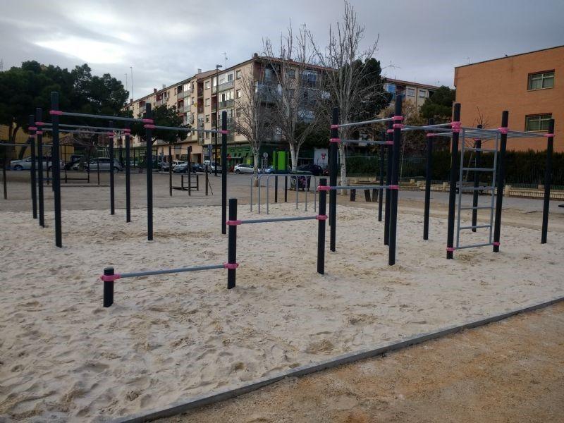 2. IDE Street Workout Parque «Torre Ramona» (Junta Municipal Las Fuentes).
