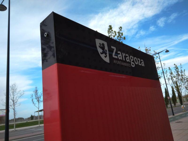 Comienzan los trabajos de señalización de las Rutas ZaragozAnda
