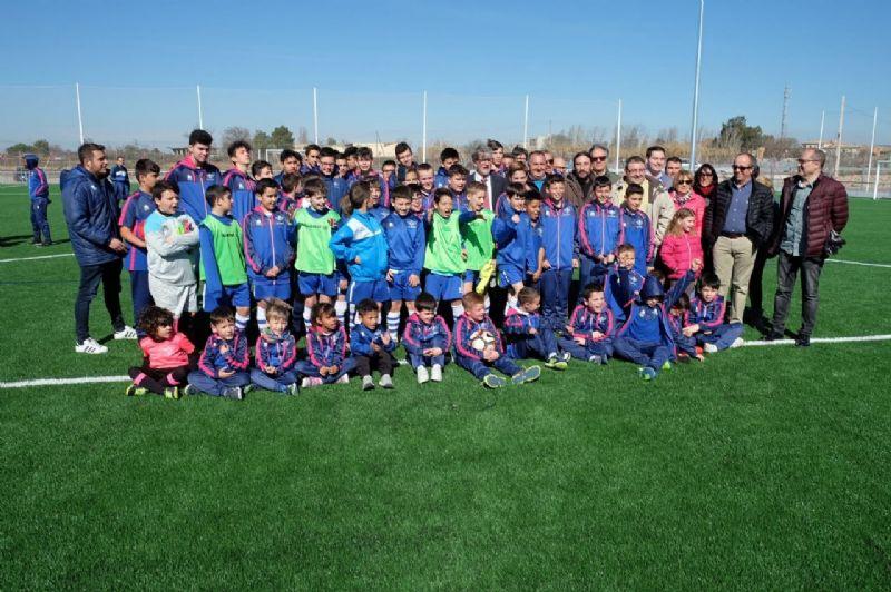 El Ayuntamiento de Zaragoza inaugura el nuevo Campo Municipal de Fútbol de Casetas