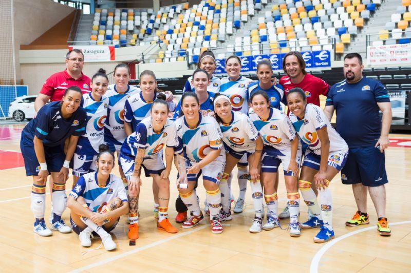 La A.D. Sala Zaragoza de fútbol sala, Premio «Zaragoza, Mujer y Deporte 2018» en en la categoría «Entidad/Club Deportivo»