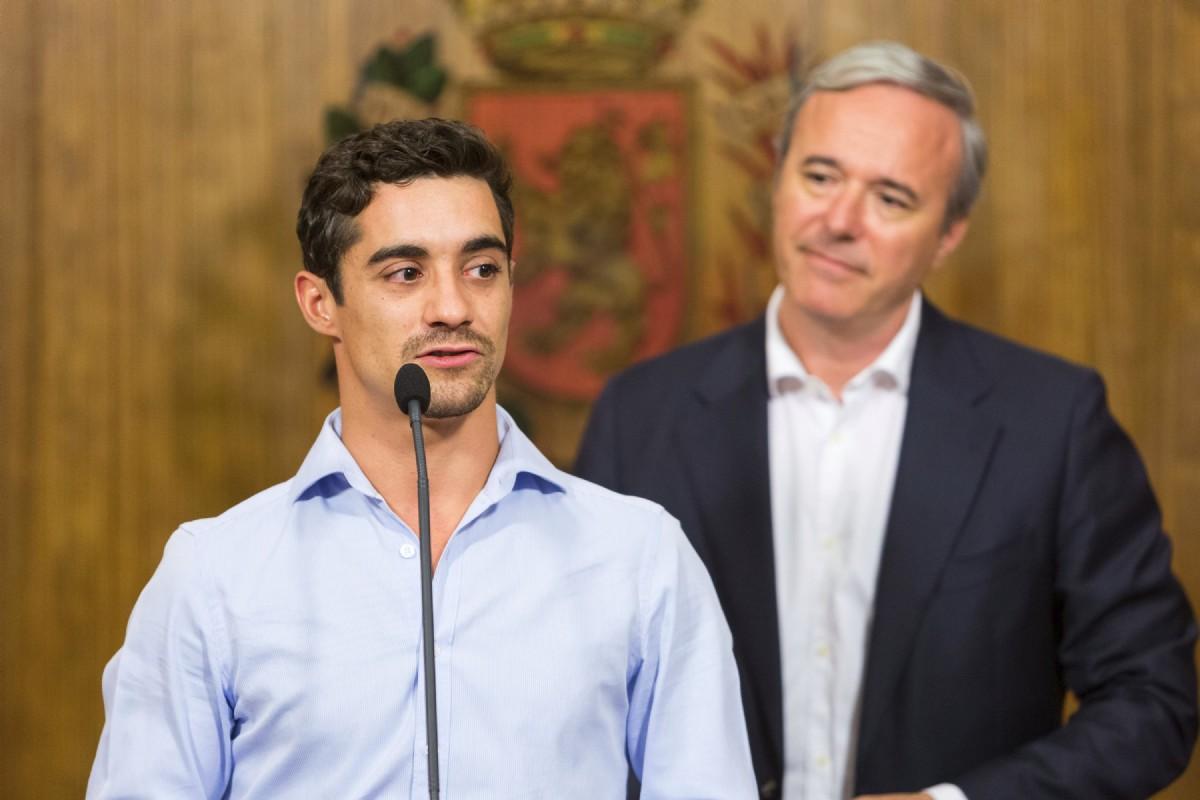 Javier Fernández recibirá la Medalla al Mérito Deportivo Ciudad de Zaragoza