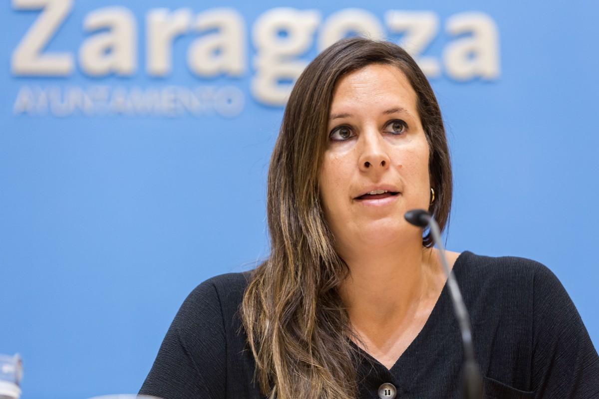 Cristina García, concejala de Deportes del Ayto. de Zaragoza